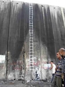 banksy-palestinian-ladder